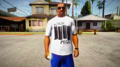 Four Pegs T-Shirt for GTA San Andreas