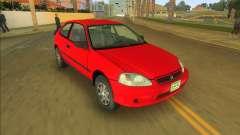 Honda Civic CX for GTA Vice City