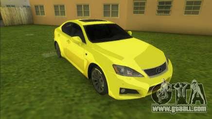 Lexus IS-F (good car) for GTA Vice City