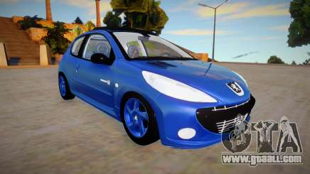 Peugeot 207 Quicksilver for GTA San Andreas