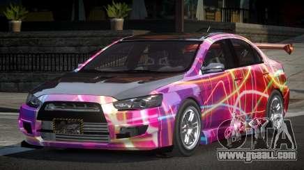 Mitsubishi Lancer X GST-R PJ3 for GTA 4