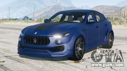 Maserati Levante Novitec Tridente Esteso (M161) 2017〡add-on for GTA 5