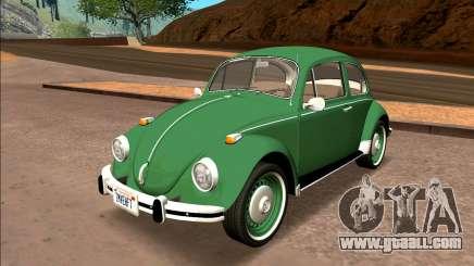 Volkswagen Beetle (Fuscao) 1500 1974 - Brazil for GTA San Andreas