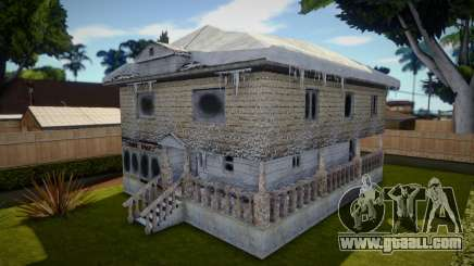Winter Big House for GTA San Andreas