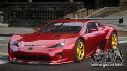 Lexus LFA PSI-R for GTA 4