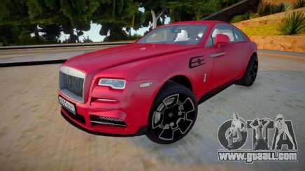 Rolls-Royce Wraith 2019 for GTA San Andreas