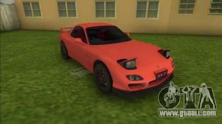 Mazda RX-7 Spirit R FD for GTA Vice City