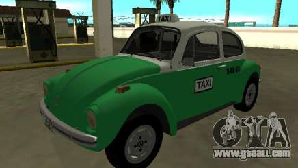 Volkswagen Beetle 1994 Taxi from Mexico for GTA San Andreas