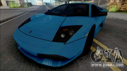 Lamborghini Murcielago LP640 Blue for GTA San Andreas