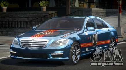 Mercedes-Benz S65 GST-R L7 for GTA 4