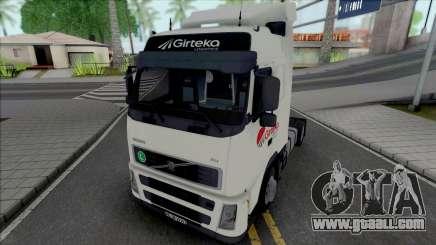 Volvo FH12 460 Girteka Logistics for GTA San Andreas