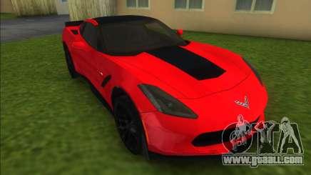 Chevrolet Corvette C7 Z06 for GTA Vice City