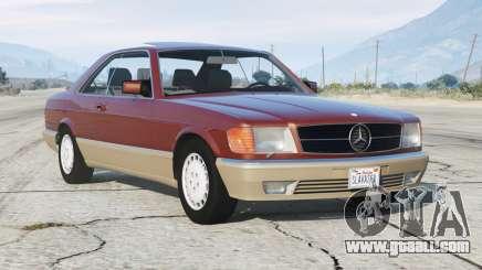 Mercedes-Benz 560 SEC (C126) 1986〡add-on v1.1 for GTA 5