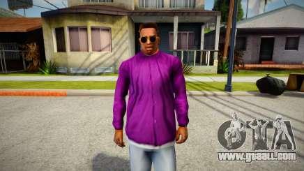 Ballas group jacket for GTA San Andreas