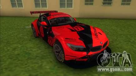BMW Z4 GT3 Dunlop for GTA Vice City