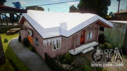 Winter Gang House 5 for GTA San Andreas