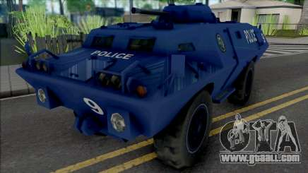 Improved S.W.A.T. Van for GTA San Andreas