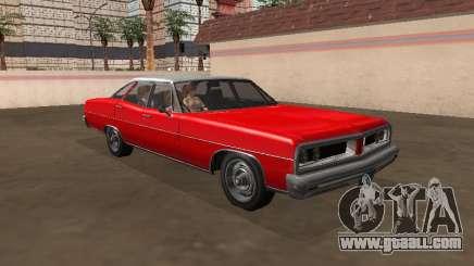 Regina Dundreary Sedan my version for GTA San Andreas
