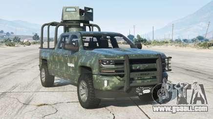 Chevrolet Cheyenne Armored Crew Cab 2017〡add-on v1.1 for GTA 5