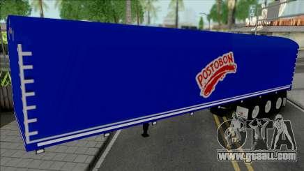Colombian Postobon Company Trailer for GTA San Andreas
