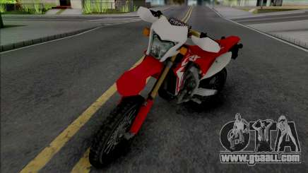 Honda CRF150R for GTA San Andreas