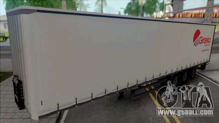 Trailer Girteka Logistics for GTA San Andreas