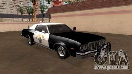 Ford Gran Torino 1979 California Highway Patrol for GTA San Andreas
