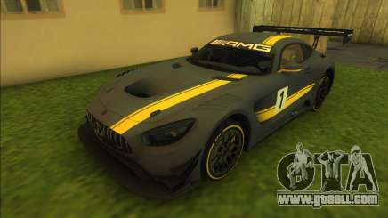 Mercedes-Benz AMG GT3 for GTA Vice City