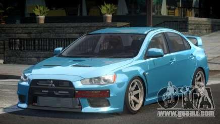 Mitsubishi Lancer X  GS V1.1 for GTA 4