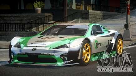 Lexus LFA PSI-R L3 for GTA 4
