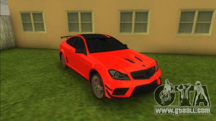 Mercedes-Benz C63 AMG for GTA Vice City