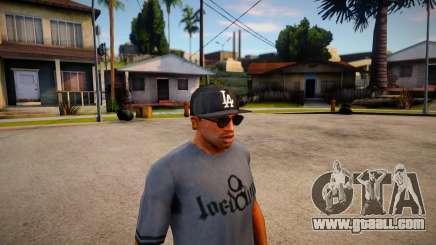 Gorra New Era LA Para CJ for GTA San Andreas