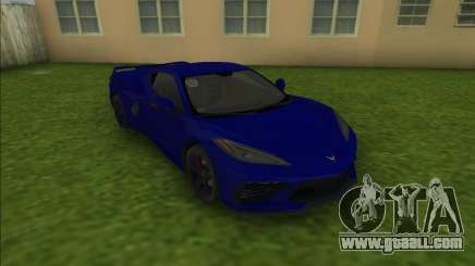 Chevrolet Corvette C8 for GTA Vice City