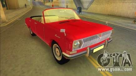 Gaz 24 - Volga Convertible for GTA Vice City