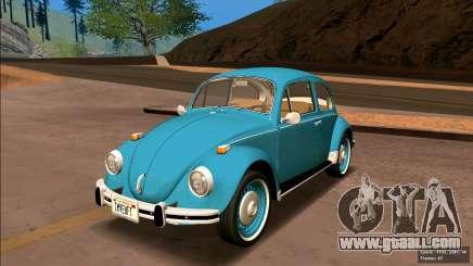 Volkswagen Beetle (Beetle) 1300 1974 - Brazil for GTA San Andreas