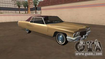Cadillac DeVille 1972 Coupe for GTA San Andreas