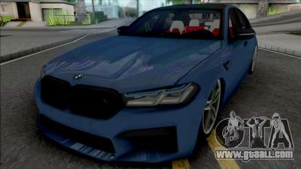 BMW M5 2021 Quantum Works for GTA San Andreas