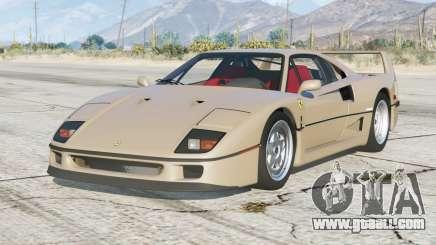 Ferrari F40 1989〡add-on for GTA 5