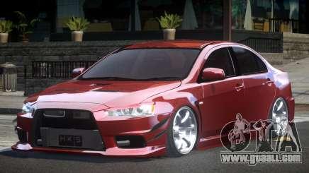 Mitsubishi Lancer X GS-R for GTA 4