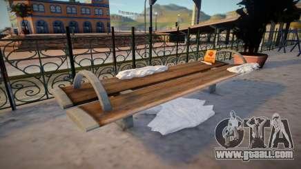 Winter Bench for GTA San Andreas