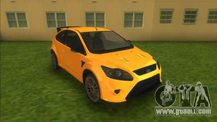 Ford Focus RS 2010 for GTA Vice City