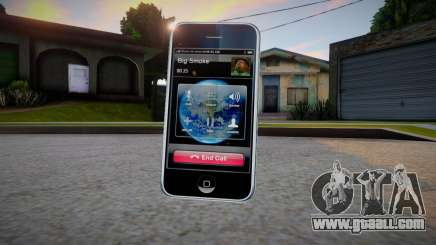 iPhone 3G for GTA San Andreas