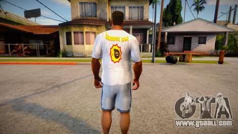 New T-shirt (good textures) for GTA San Andreas