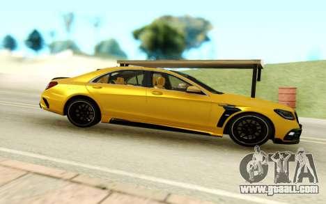 Mercedes-Benz C 63 for GTA San Andreas