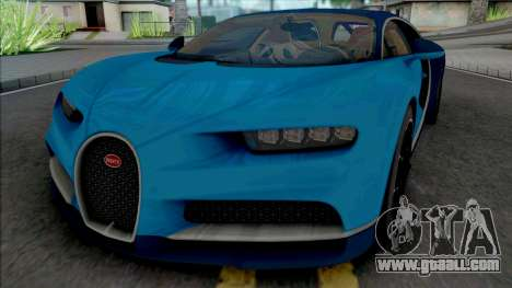 Bugatti Chiron 2017 (Real Racing 3) for GTA San Andreas