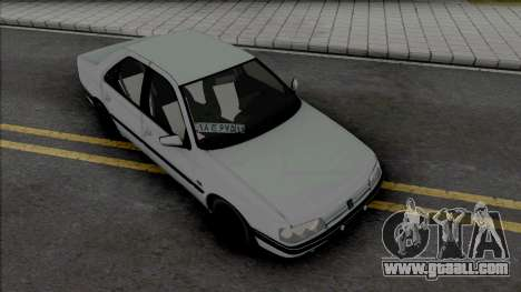 Peugeot 405 GLX Dogs for GTA San Andreas