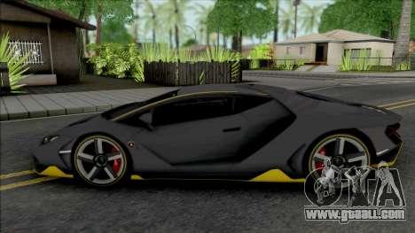 Lamborghini Centenario (Real Racing 3) for GTA San Andreas