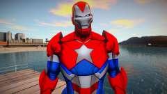 Marvel Future Fight - Iron Patriot (good skin) for GTA San Andreas