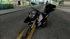 Honda XRE 300 2015 Police MG for GTA San Andreas