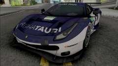 Ferrari 488 GTE for GTA San Andreas